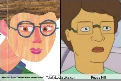 peggy hill,teachers,totally looks like,funny