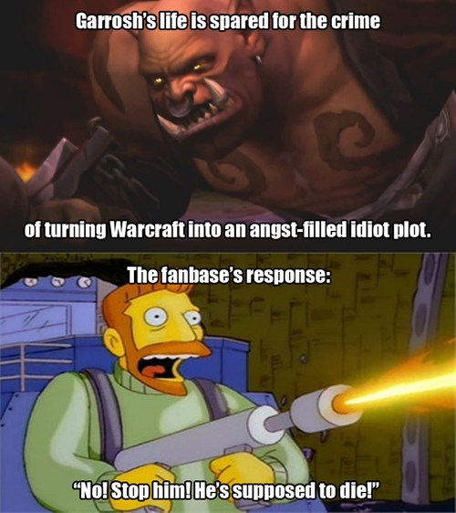 Garrosh Gets Off Easy For His Unforgivable Crimes