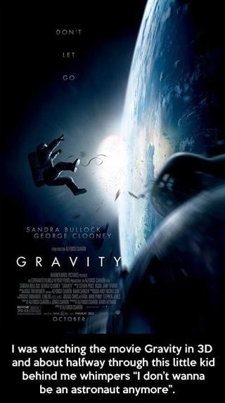 Why Not to Watch Gravity