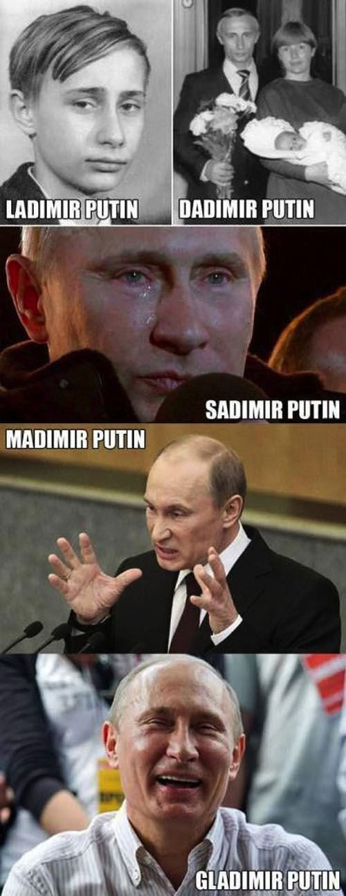 Will We Ever Stop Putin These Puns Up?