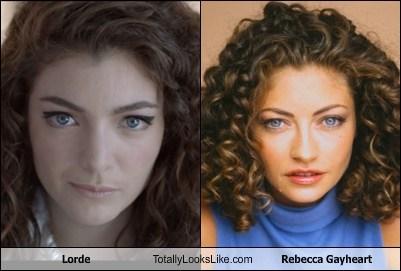 Lorde Totally Looks Like Rebecca Gayheart