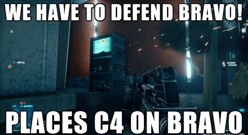 Battlefield 4,video game logic