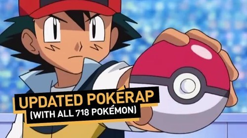 This PokéRap With All the Pokémon is Actually a Nightmare