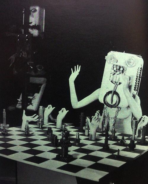 wtf,creepy,chess,vintage