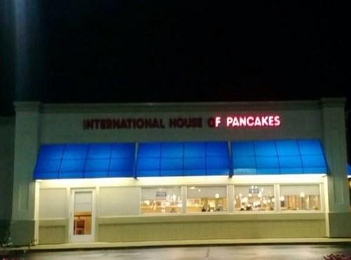 food,breakfast,ihop,sign,pancakes
