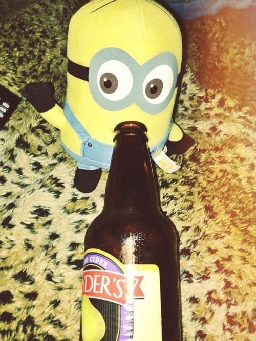 beer,cute,funny,minions