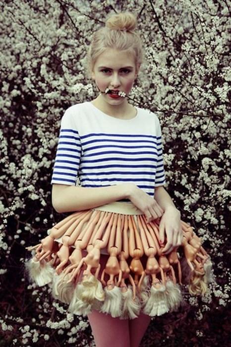 Barbie,fashion,dolls,skirt,wtf