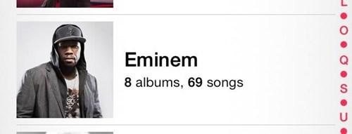 50 cent,eminem,FAIL,iTunes