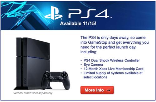 PlayStation 4,gamestop,FAIL,ads