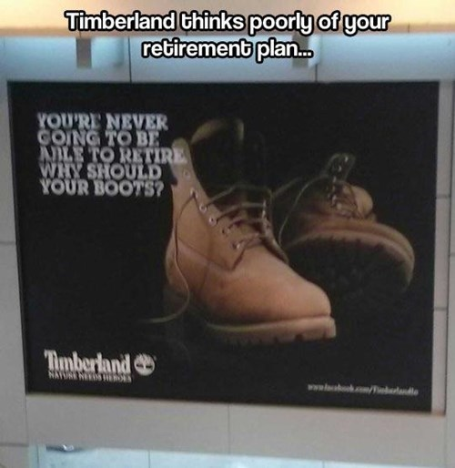 Words of Encouragement From Timberland