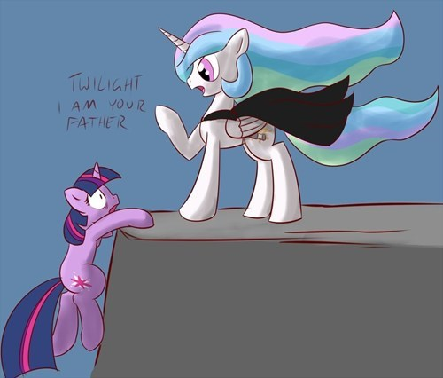 Twilight Skywalker and Darth Celestia