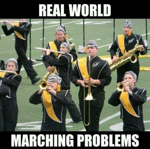hat,funny,problems,marching band