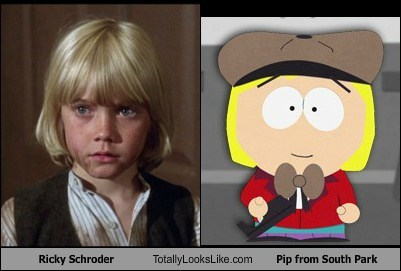 Ricky Schroder Totally Looks Like Pip from South Park