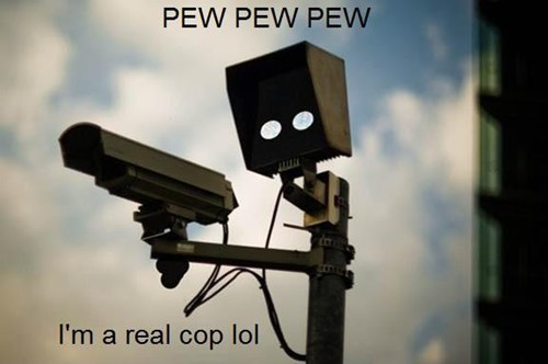 I'm Pulling You Over So I Can Shoot You