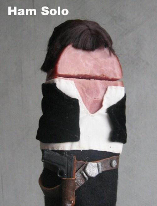 ham,star wars,puns,Han Solo