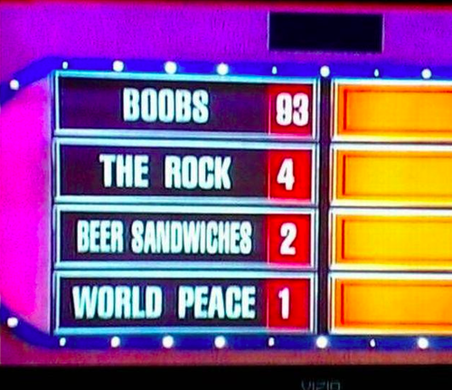"What Question Could Have Possibly Prompted These ""Family Feud"" Answers?"