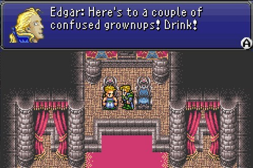 Getting Drunk in FF6