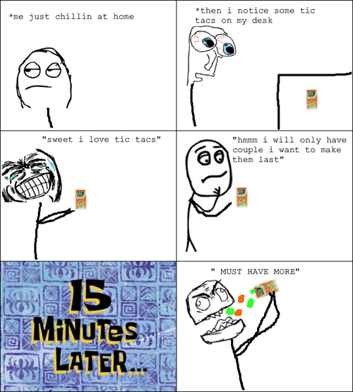 Tic Tacs Are Like Pringles