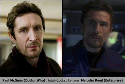Paul McGann Totally Looks Like Malcolm Reed