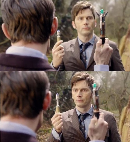 "Boys and Their ""Sonic Screwdrivers"""