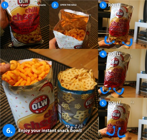 mind blown,funny,snacks,life hacks
