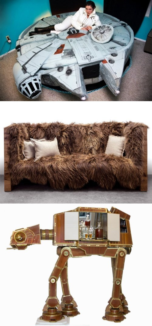DIY of the Day: The Best Star Wars Furniture