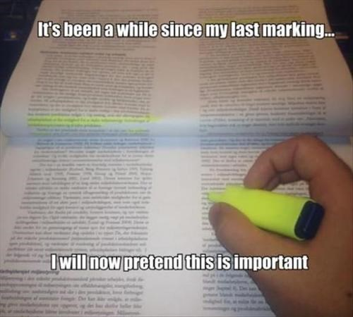 How People Actually Highlight
