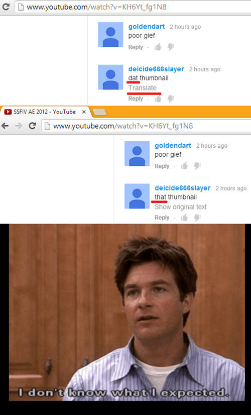 i don't know what i expected,youtube,arrested development