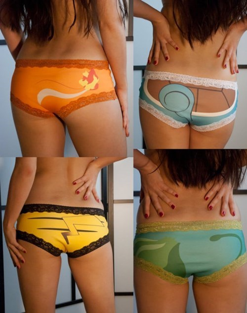 These Pokémon Panties Are Surprisingly Tasteful