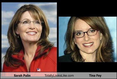 Sarah Palin Totally Looks Like Tina Fey