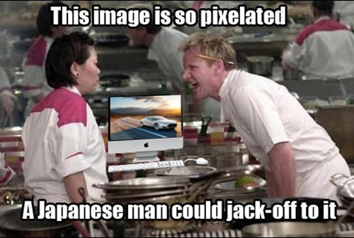 Gordon Ramsay Graphic Designer