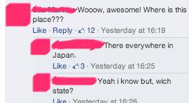 Japan, Right on the Border to Georgia