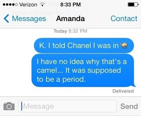 Why Would You Ever Need a Camel in a Text?