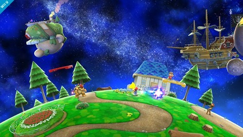 SM3DW to Include Galaxy Level