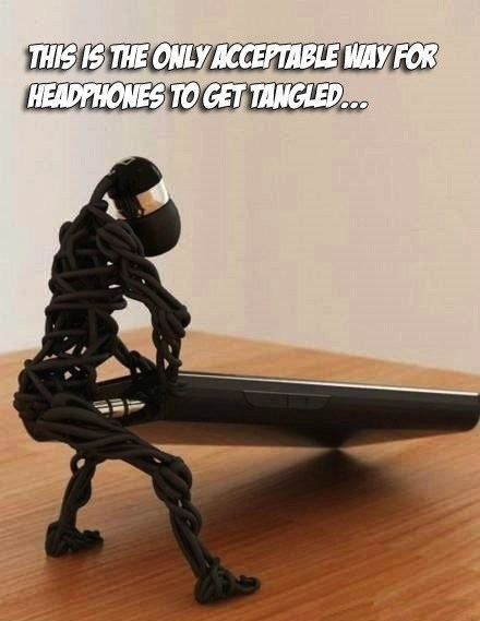 headphones,tangles