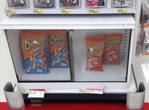 glass cases,cheetos,there I fixed it