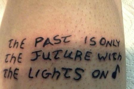 Too Bad The Lights Were Off When You Got This Tattoo