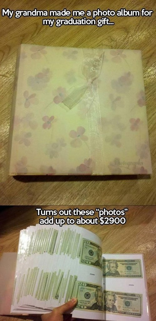 Grandma Has a Love of Photos, and Sweet Cold Cash