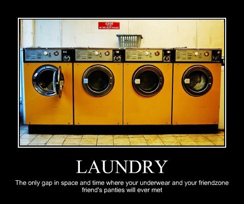 Laundry Day Is an Exciting Day
