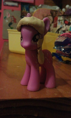 Twilight Sparkle molded mane