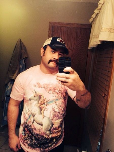 It Takes a Special Man To Pull Off a Unicorn Shirt