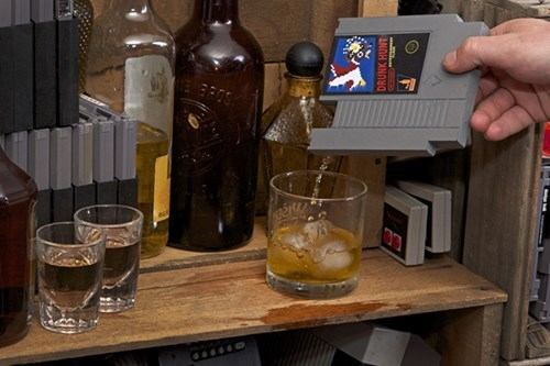 An NES Game? NO! It's a Flask!