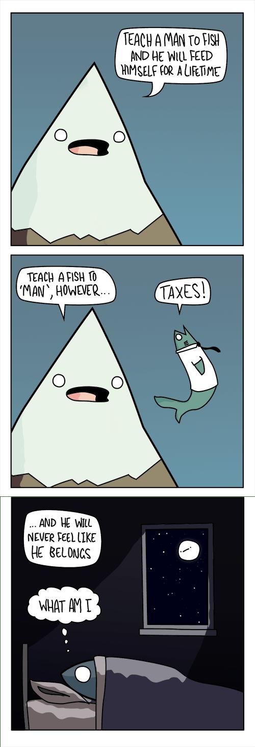 old sayings,wtf,fish,funny,web comics