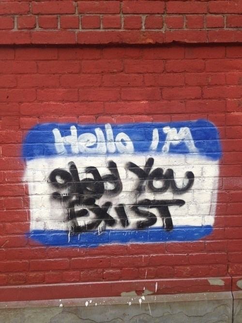 We're Just Glad This Street Art Exists