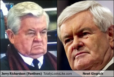 Jerry Richardson Totally Looks Like Newt Gingrich