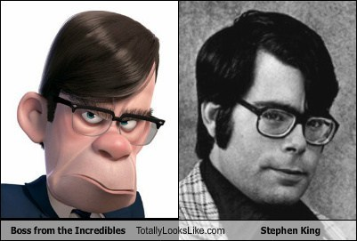 Boss from the Incredibles Totally Looks Like Stephen King
