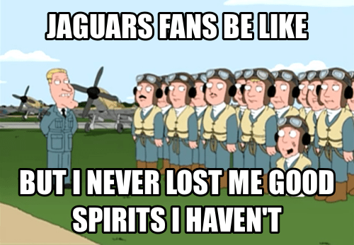 Jaguars Fans Are Trying So Hard