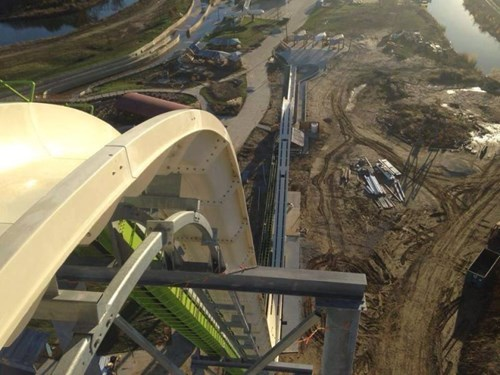 Meg-a-Blaster is Water Slide Over a Hundred Feet Tall and Guaranteed to Make You Wet Yourself