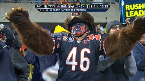 This is the Best Bears Fan Ever
