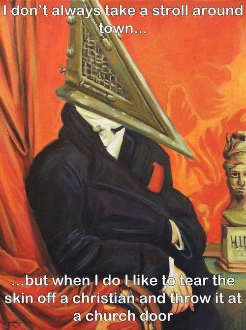 The Most Interesting Pyramid Head